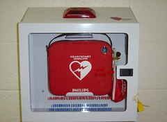 AED & Fire Extinguishers, both necessary