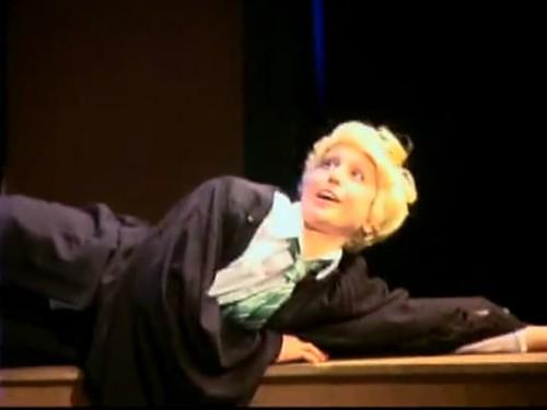 Lauren Lopez as Draco Malfoy