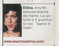 """373c87767d Sul BLOB DEI BLOG del """"Magazine"""" del Corriere della Sera è riportata una  mia """"satira"""" via Inserto Satirico per il quale (e tale) mi onoro di  collaborare."""