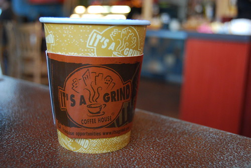 It's a Grind Coffee House, Latte Castaic by you.