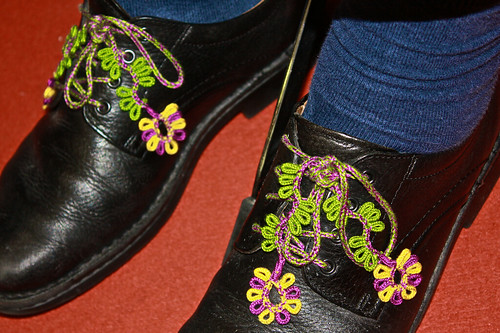 The worlds most fabulous shoelaces