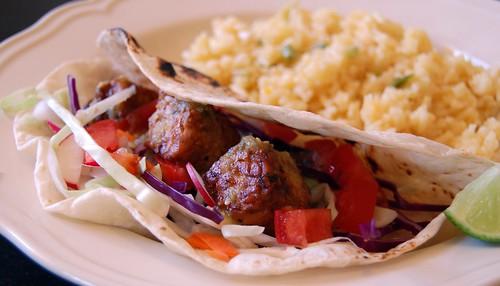 Tempeh Asado Tacos
