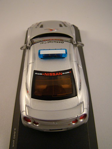Kyosho Nissan Skyline R35 GTR Safety Car (6)