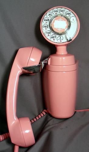 vintage wall phone