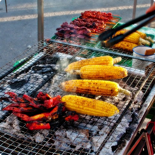 Have a break, have a BBQ corn cob II