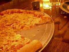 pizza at Pi Bar