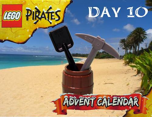 Pirate Advent Calendar Day 10