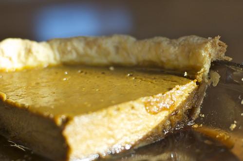 pumpkin praline pie
