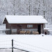 La granja en la nieve