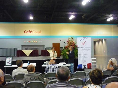 Alliance Francaise activity at the book fair