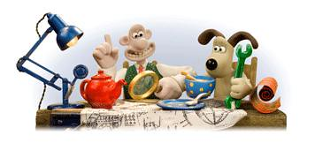Google logos wallace and grommit by pipot83, on Flickr