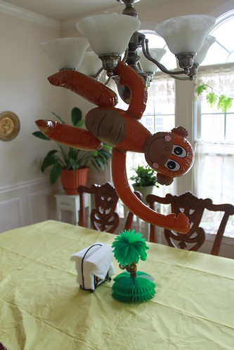 Occoquan Baby Shower - Upstair Decorations