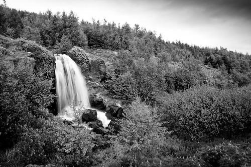 Vaðlaheiði Waterfall