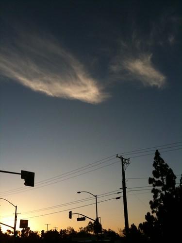 ...and sunrise