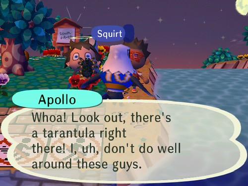 Scaring Apollo