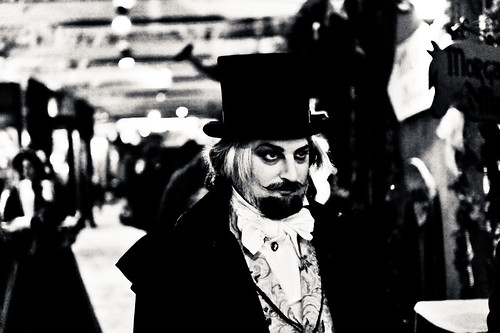 photo of victorian businessman