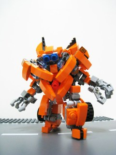 LEGO Transformers Mudflap