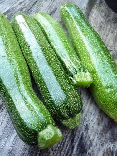 Courgettes by you.