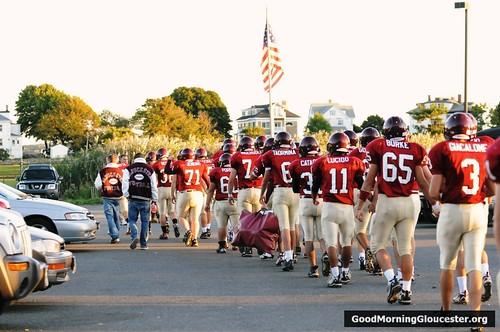 GHS Football vs Winthrop Pics From David Cox