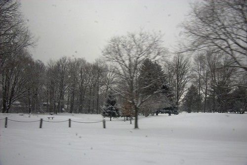 Snow in Sarnia, Ontario