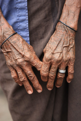 Elderly Timorese in Suai Loro