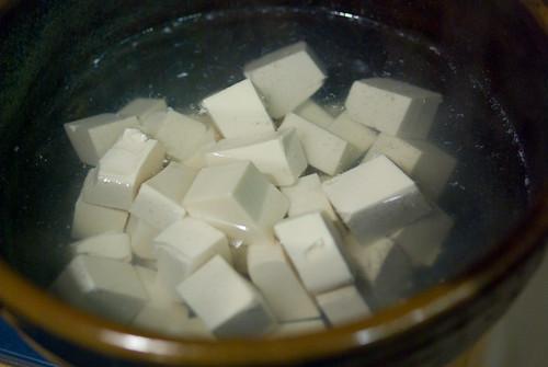 tofu soak