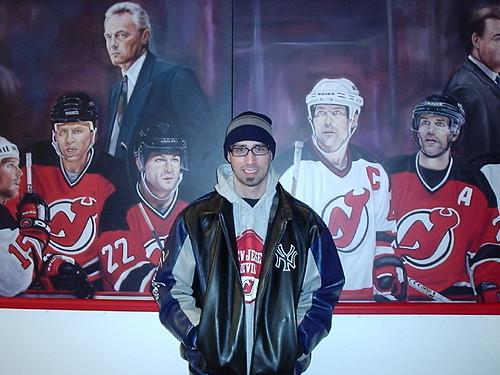 Dan Rice and the Mural