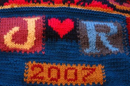 cushion cover detail