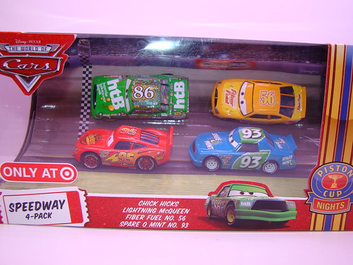CARS Blu RAY diecast Gift Set (1)