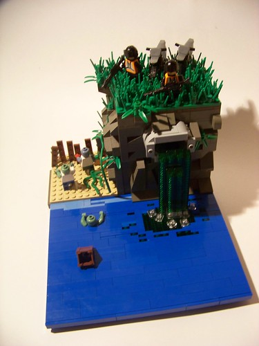 LEGO toxic zombie outbreak