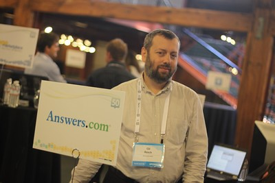 Gil Reich, VP of Product Management at Answers.com