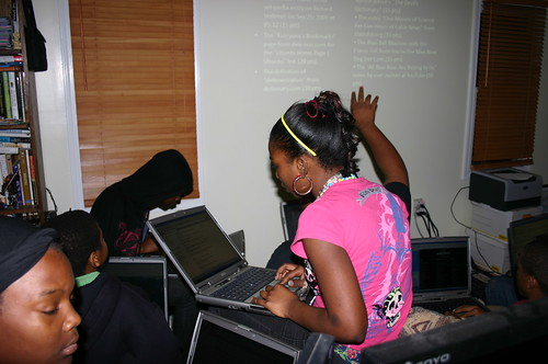 Computer Literacy Program - World Wide Web - Khaliya Looks Up Defenestration