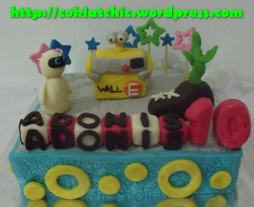 Cake Wall E dan Eve