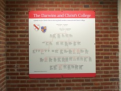 Darwin Genealogy, Christs College, University of Cambridge