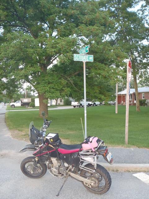 Corner of Scituate Ave & Scituate Ave in Cranston, RI