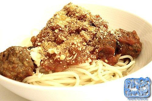 spaghetti meatballs canteen