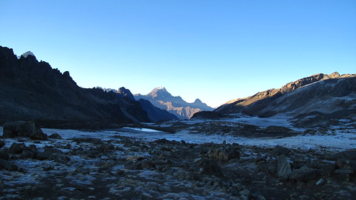 Camping at 4700m - the coldest night of all