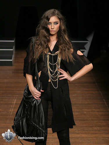 Kirrily Johnston - I will always love black and layering.