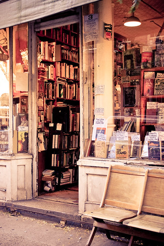 Greenwich vintage bookstore