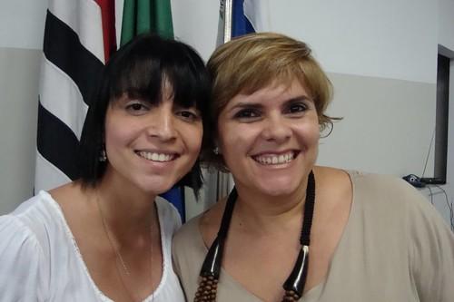 Viviane Ruiz e Fabiola Medeiros