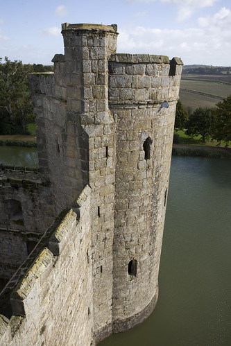 A tower of Bodiam Castle
