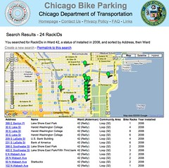 Advanced Search - Bike Parking