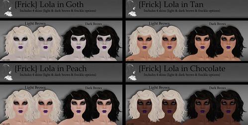 {Frick} Pinups - Lola