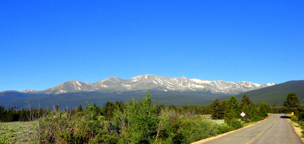 Gotta love the dudes that named this one.  Eh, lets call it...  Massive!  Mount Massive, 14,421.  2nd highest in CO.