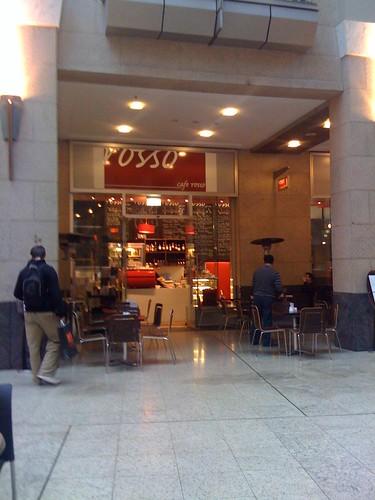 Cafe Rosso, Victoria Galleries, Sydney CBD