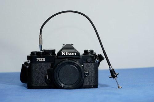 接上相機的樣子,有了這利器就可以開始拍夜景啦!耶耶