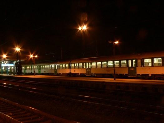 Treno regionale a Choceň