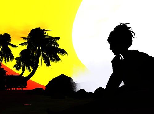 Fun with Windlight - Sunset