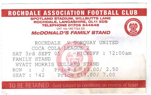 Rochdale 4-1 Torquay