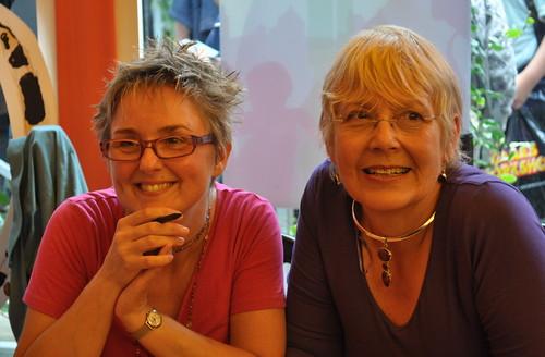 Lynne Chapman and Julia Jarman 2